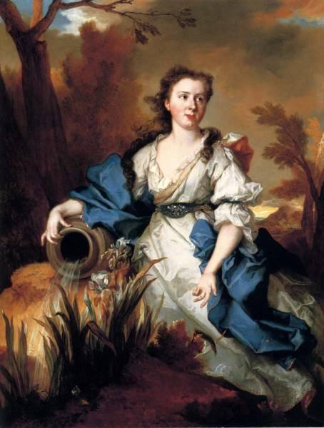 Portrait Of Marianne de Mahony